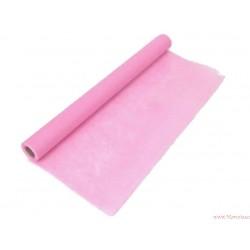 Flizelina siatka 50cm 9m różowa jasna