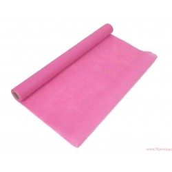 Flizelina siatka 50cm 9m różowa ciemna