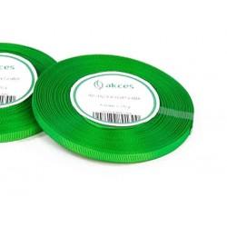 Wstążka rypsowa 6mm rolka 22m zielona