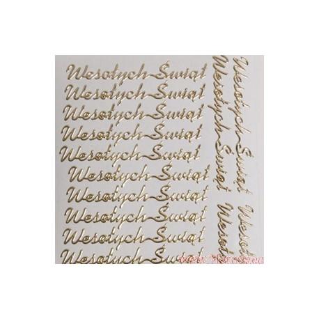 stickersy - nalepki wesołych świąt