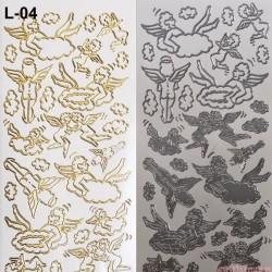 stickersy - nalepki aniołki anioły (L-04)
