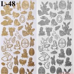 stickersy - wielkanoc (L-48)