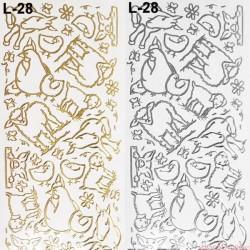 stickersy wielkanoc L 28