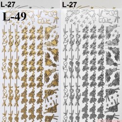 stickersy - boże Narodzenie (L-49)