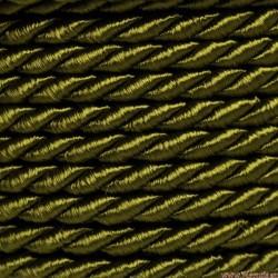 Sznurek skręcany 3,2mm 1mb OLIWKA (SS-11)