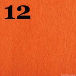 Filc 1mm, 20x30 cm, pomarańczowy