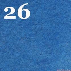 Filc 1mm, 20x30 cm, niebieski
