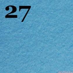 Filc 1mm, 20x30 cm, błękitny